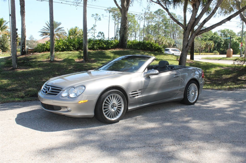 2004 mercedes benz sl500 convertible