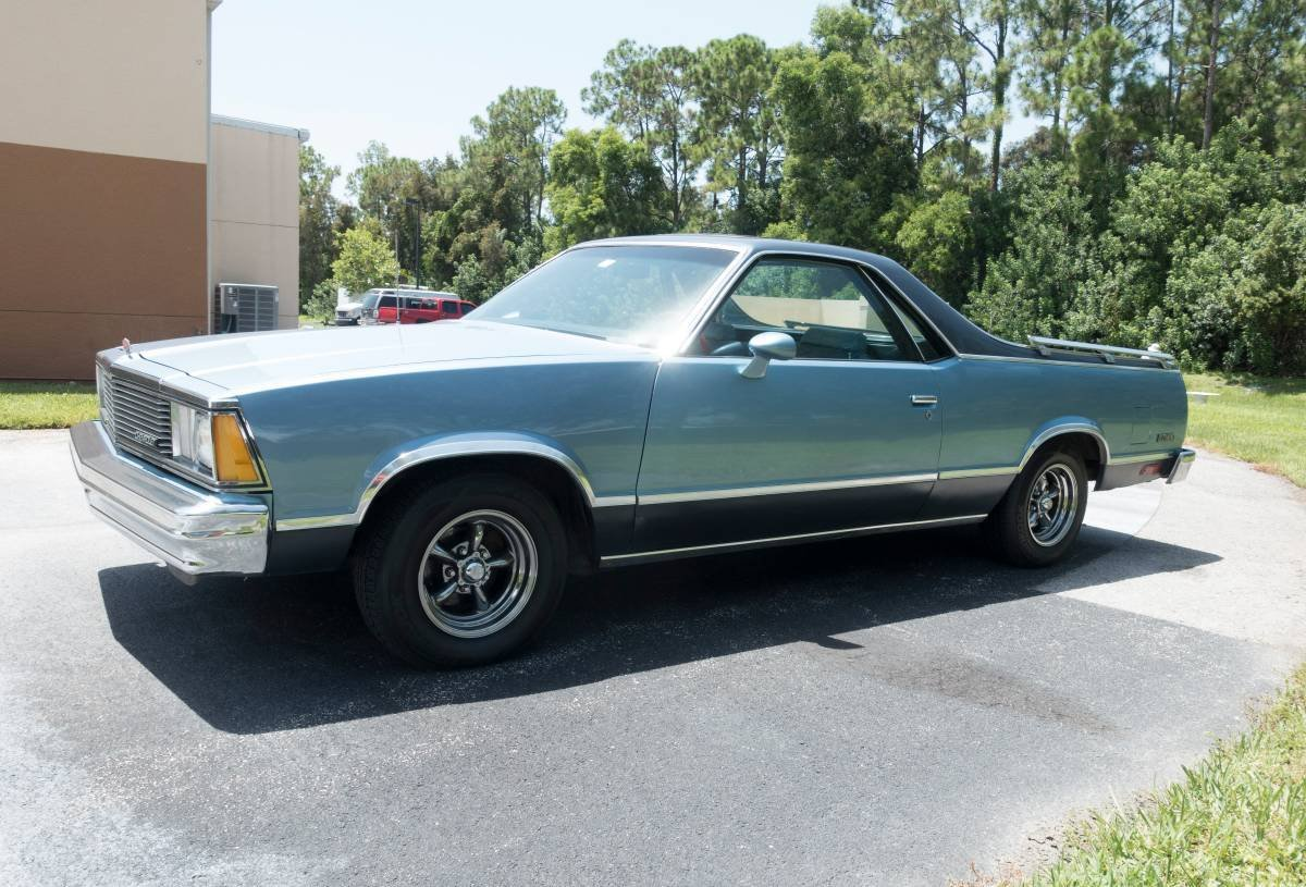 1981 chevrolet el camino pickup