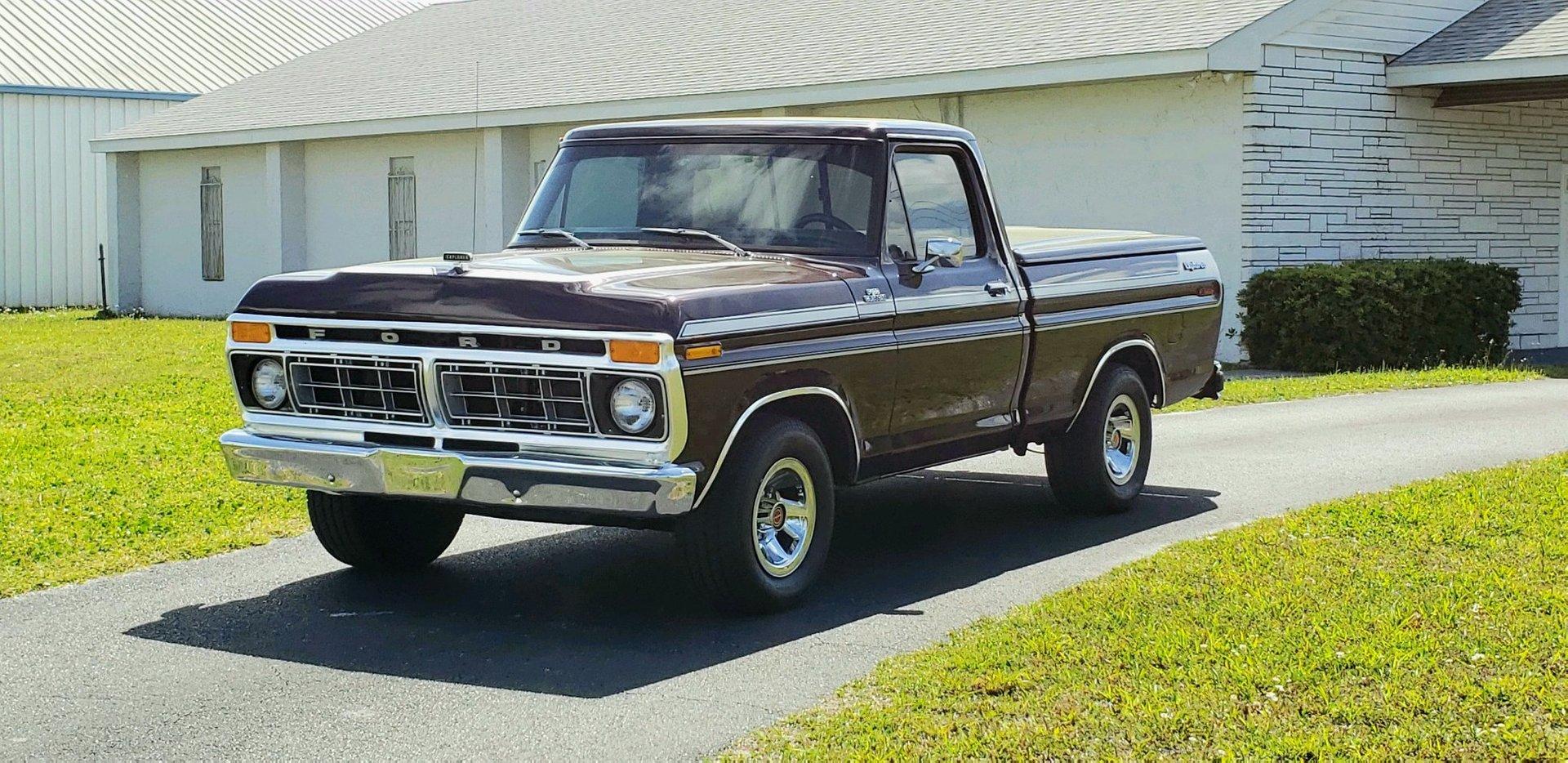 1977 ford f100 xlt shortbed pickup