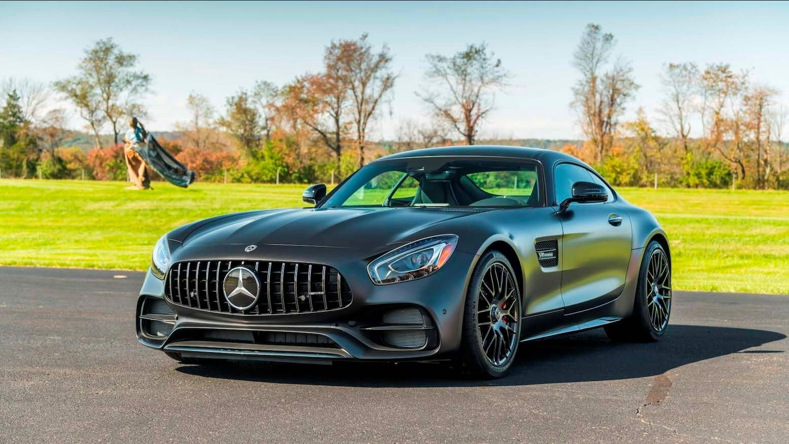 2018 mercedes benz amg gt c edition 50 coupe