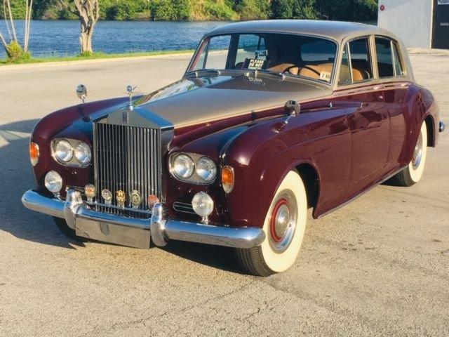 1963 rolls royce silver cloud iii saloon