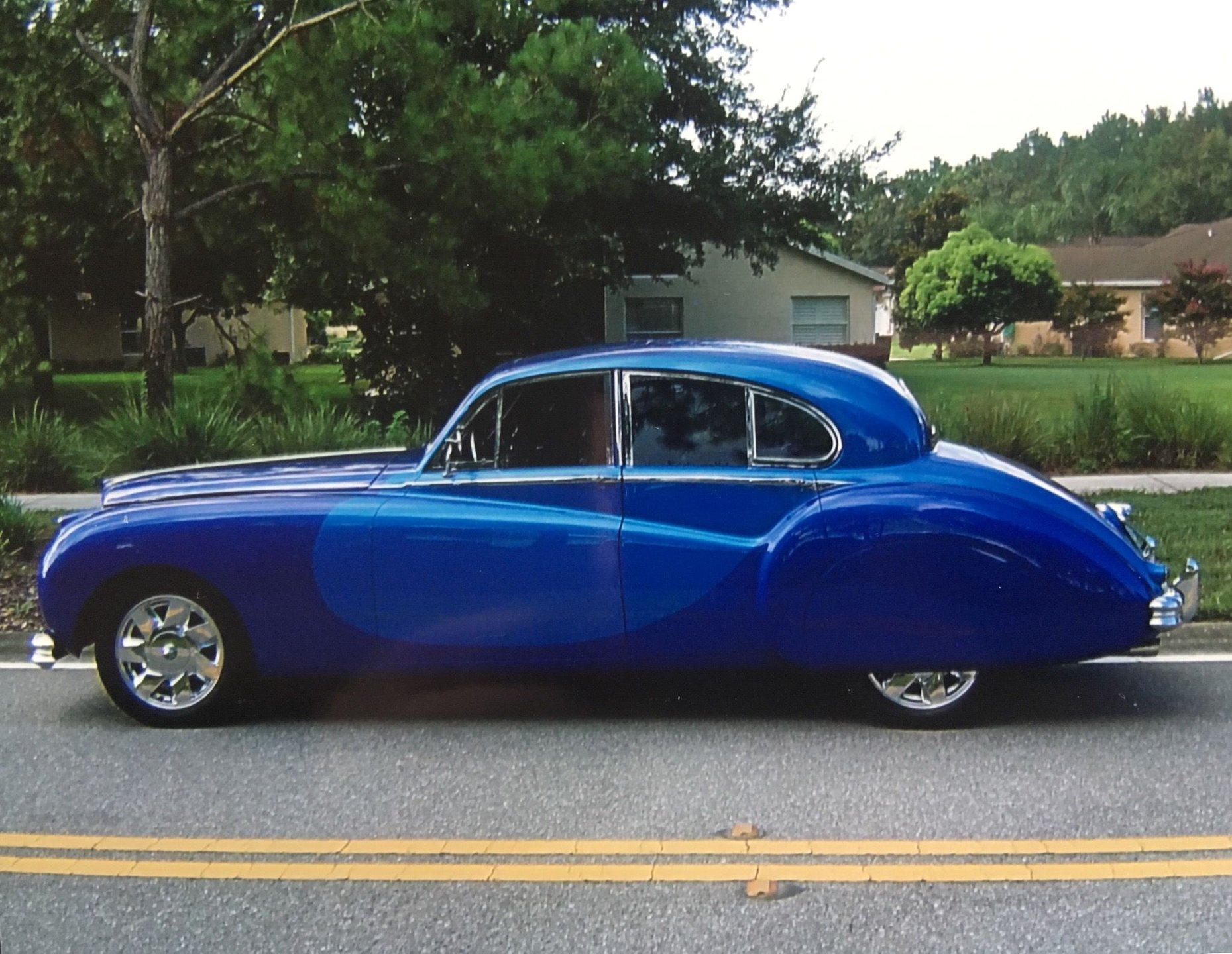 1953 jaguar mark vii restomod sedan
