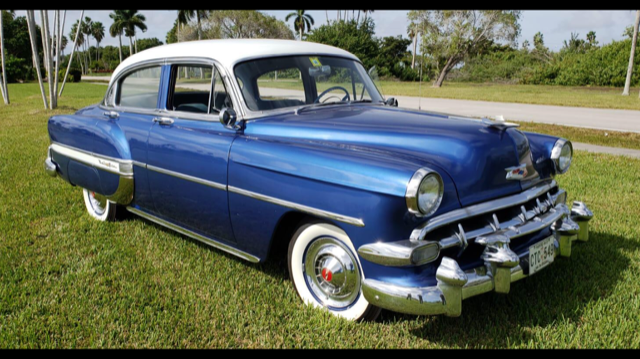 1954 chevrolet bel air sedan