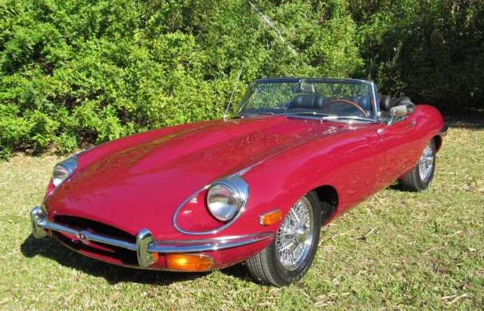 1969 jaguar e type roadster