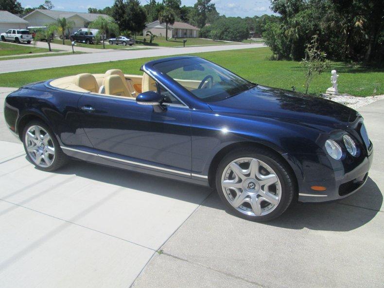 2008 Bentley GTC Mulliner