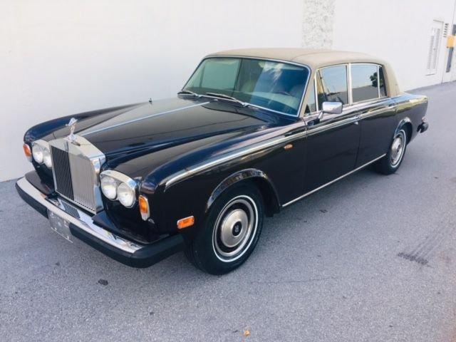 1979 rolls royce silver wraith ii sedan