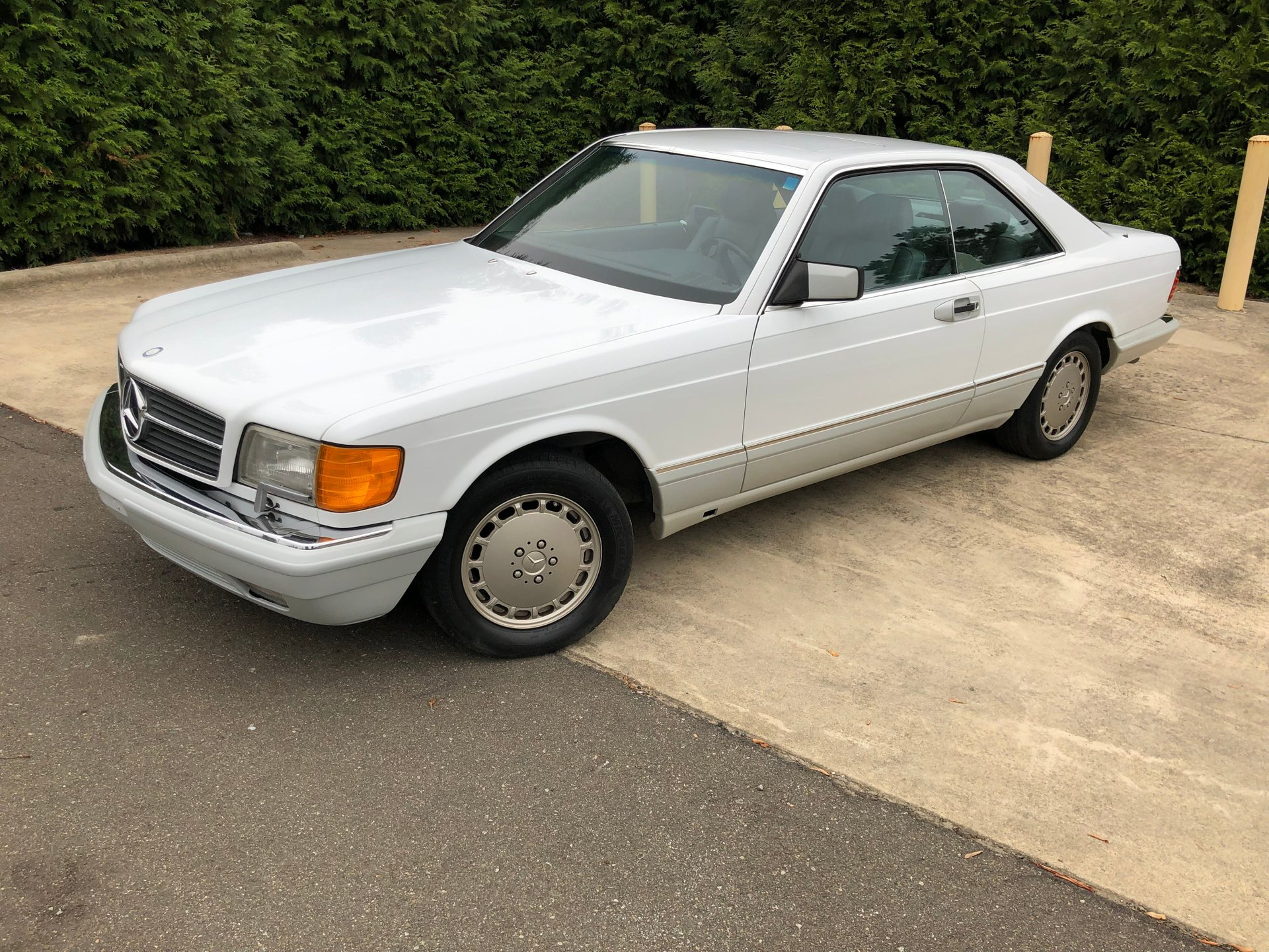 1990 mercedes benz 560 sec coupe