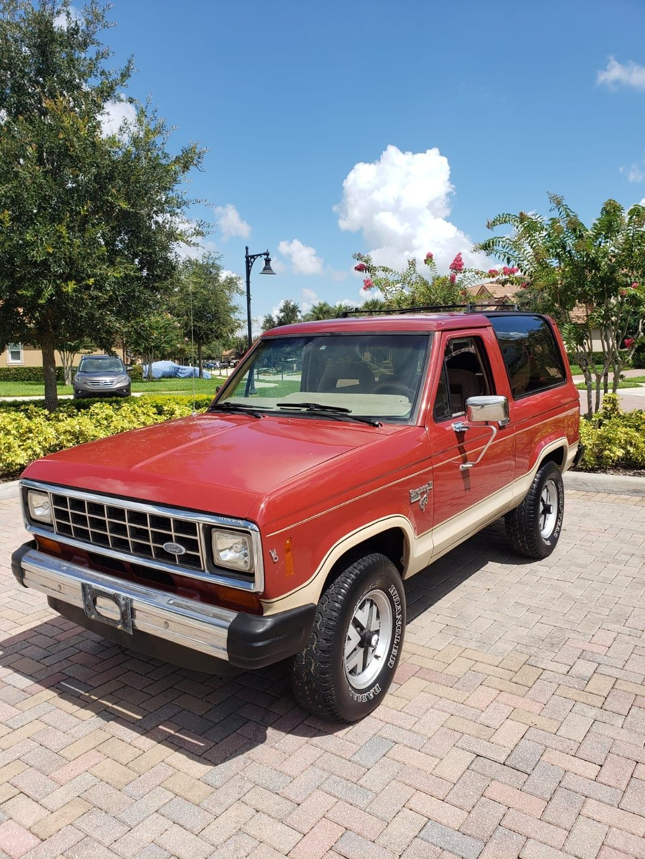 1985 ford bronco ii 4 x 4 sport utility