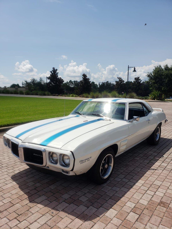 1969 pontiac firebird coupe
