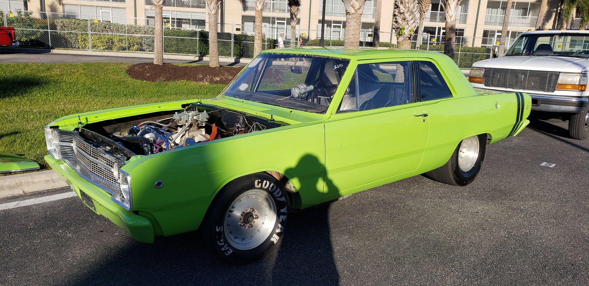 1968 dodge dart race car