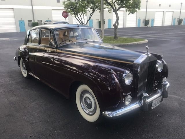 1962 rolls royce silver cloud ii sedan