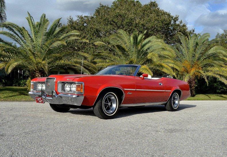 1972 Mercury Cougar For Sale