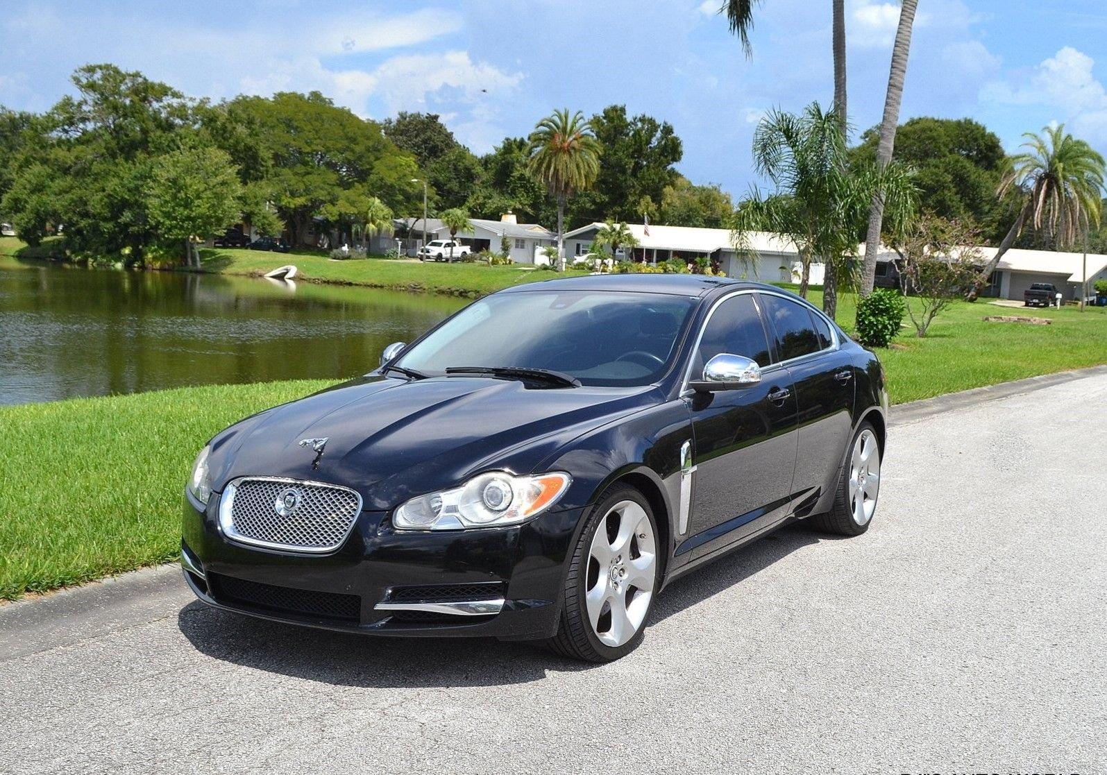 2009 jaguar xf supercharged sedan