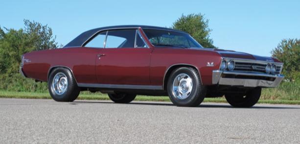 1967 chevrolet chevelle ss 396 hardtop