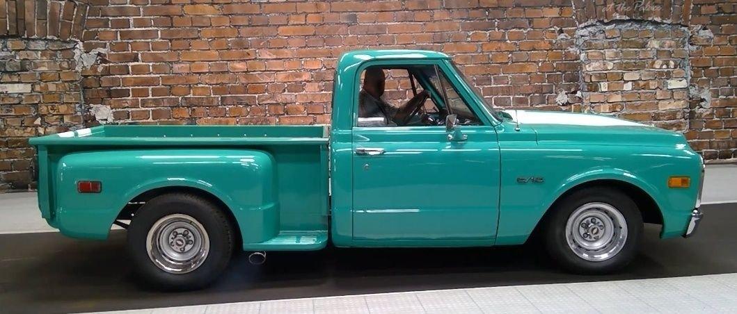 1970 chevrolet c10 stepside pickup