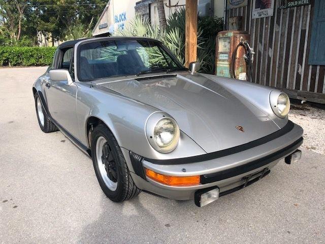 1982 porsche 911 carrera targa