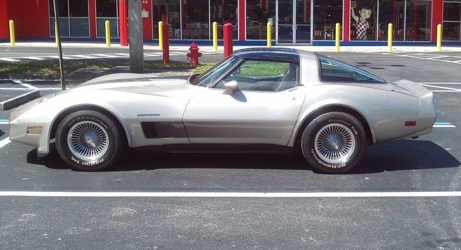 1982 chevrolet corvette collector s edition coupe