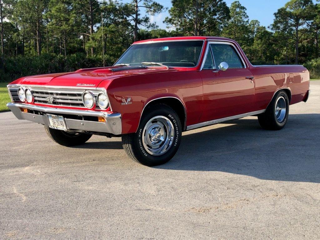 1967 chevrolet el camino 396 pickup