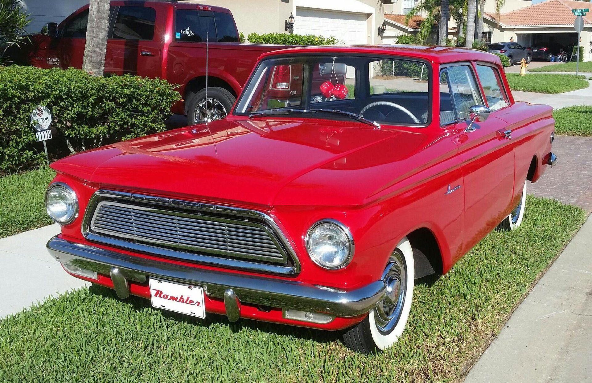 1962 rambler american deluxe coupe