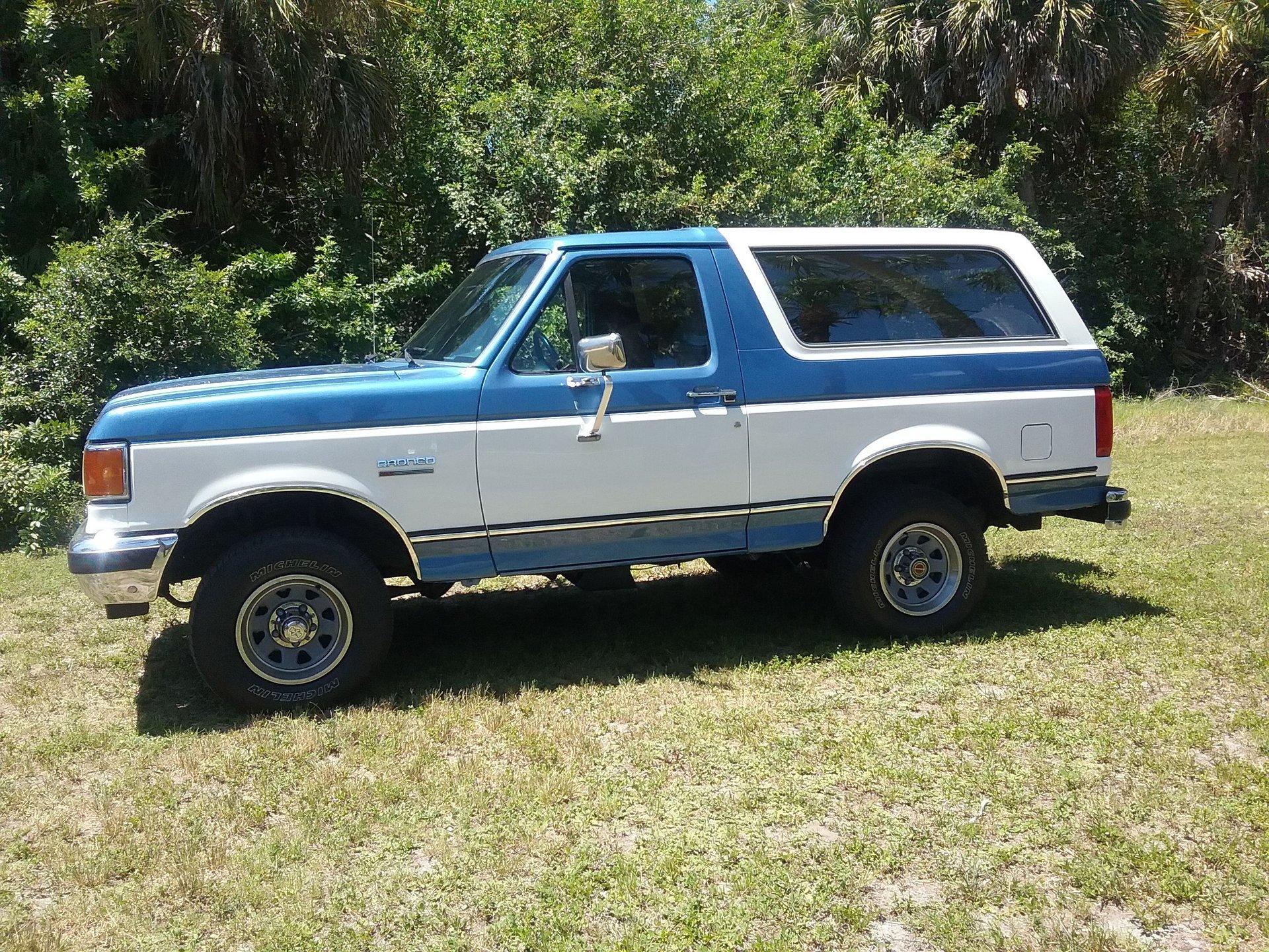 1990 ford bronco 4 x 4