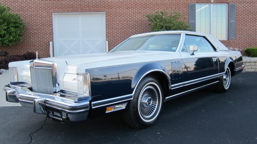 1979 lincoln mark v bill blass edt coupe
