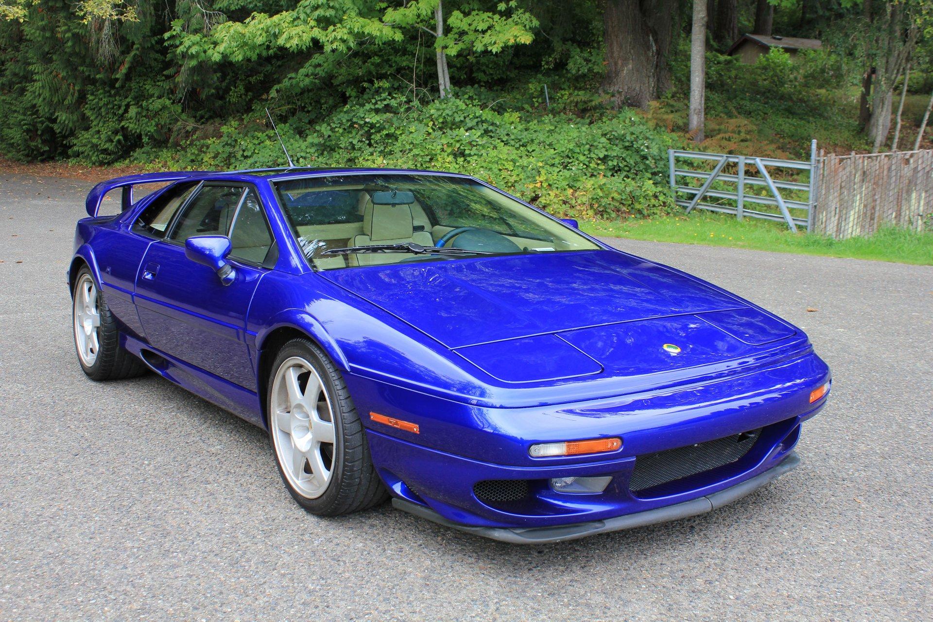 1998 lotus esprit turbo coupe