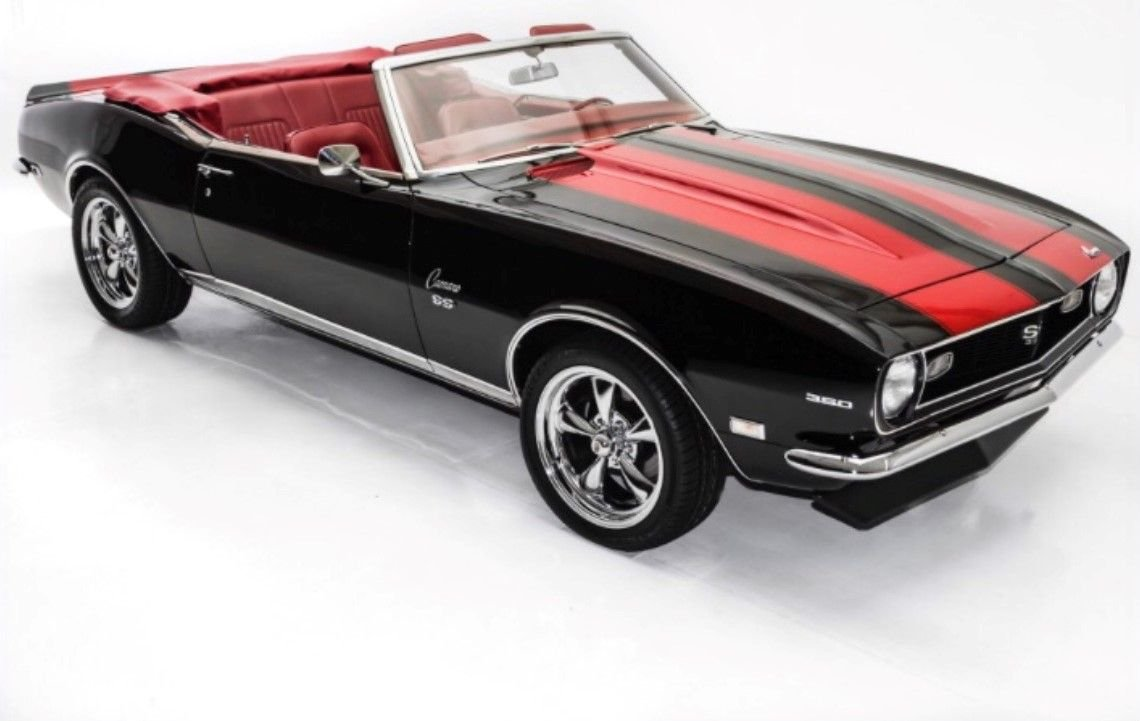 1968 chevrolet camaro ss convertible restomod