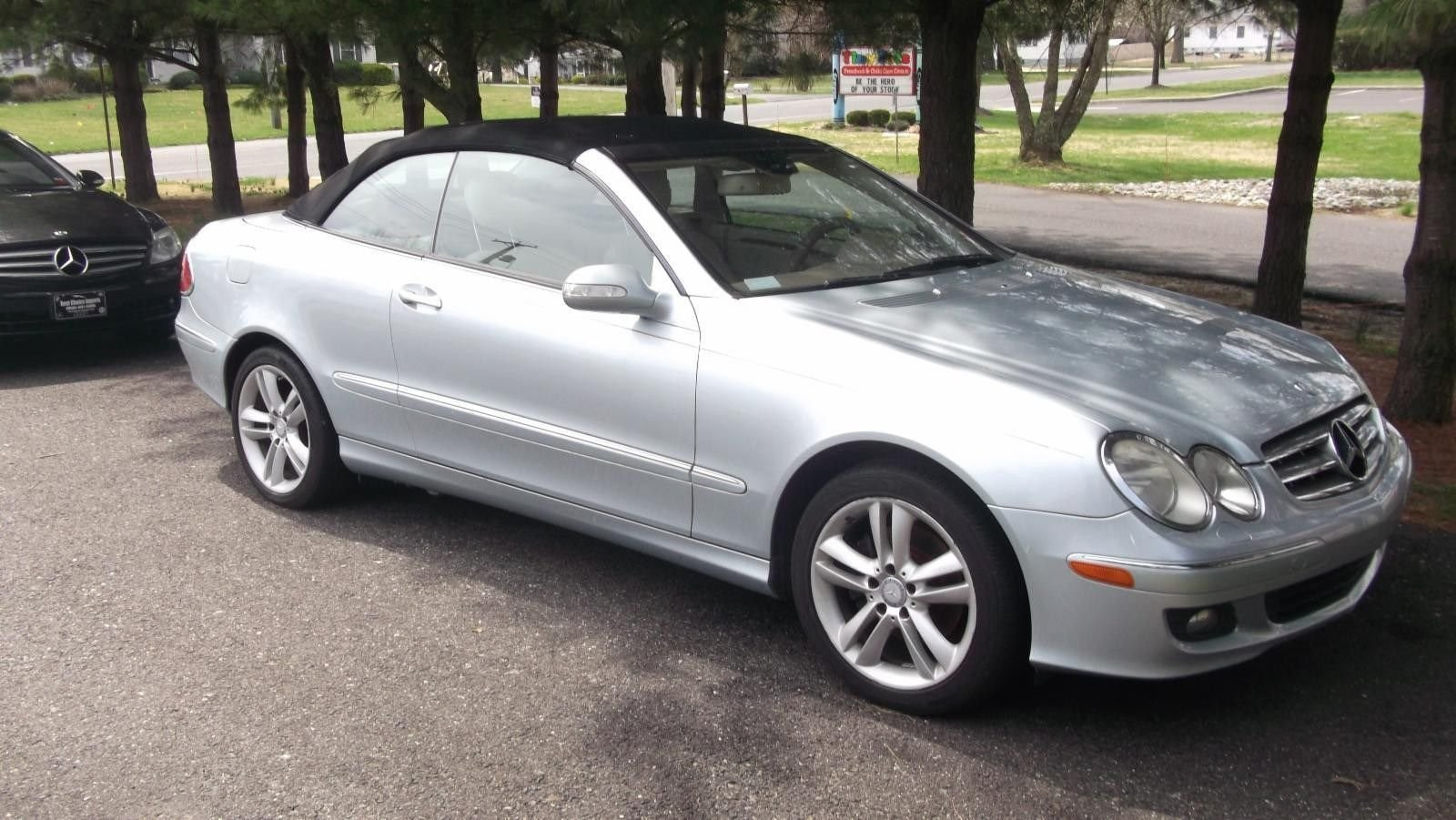 2008 mercedes benz clk350 convertible