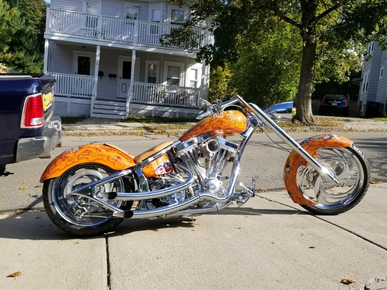 2006 kraf pro street motorcycle