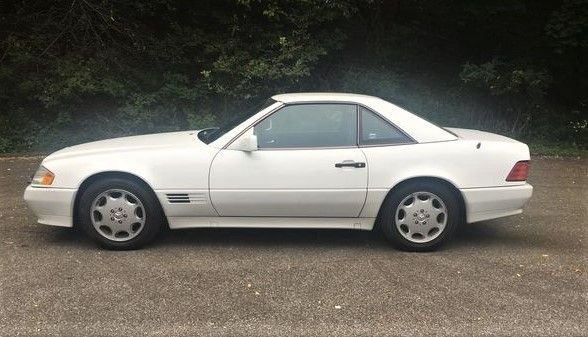 1995 mercedes benz sl500 hardtop roadster