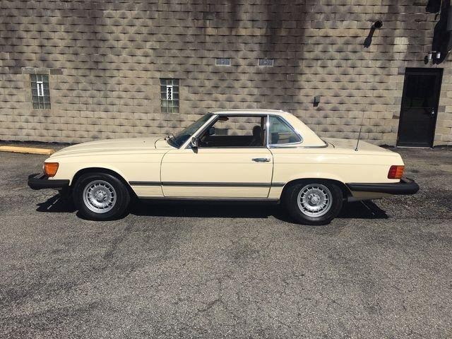 1980 mercedes benz 450sl roadster