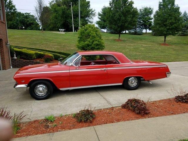 1962 chevrolet impala ss hardtop