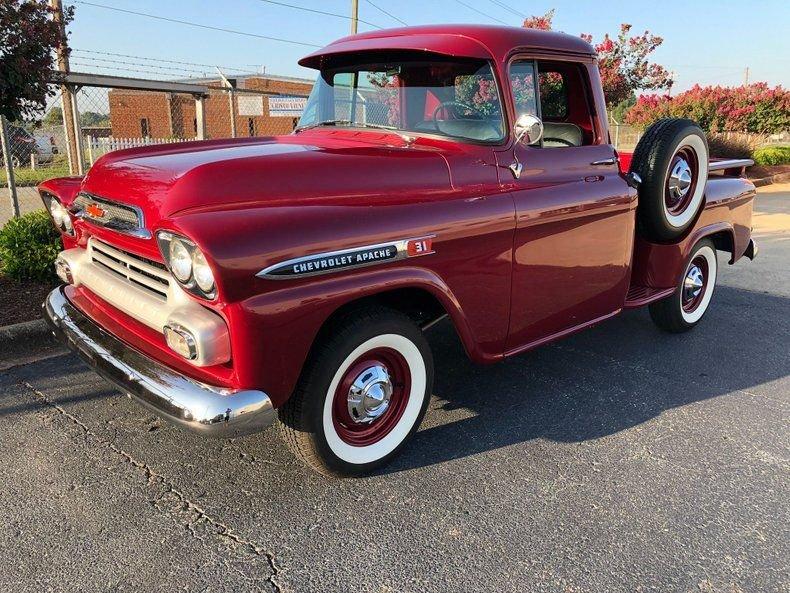 1959 chevrolet apache 31 pickup