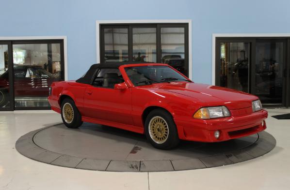1987 ford asc mclaren mustang convertible
