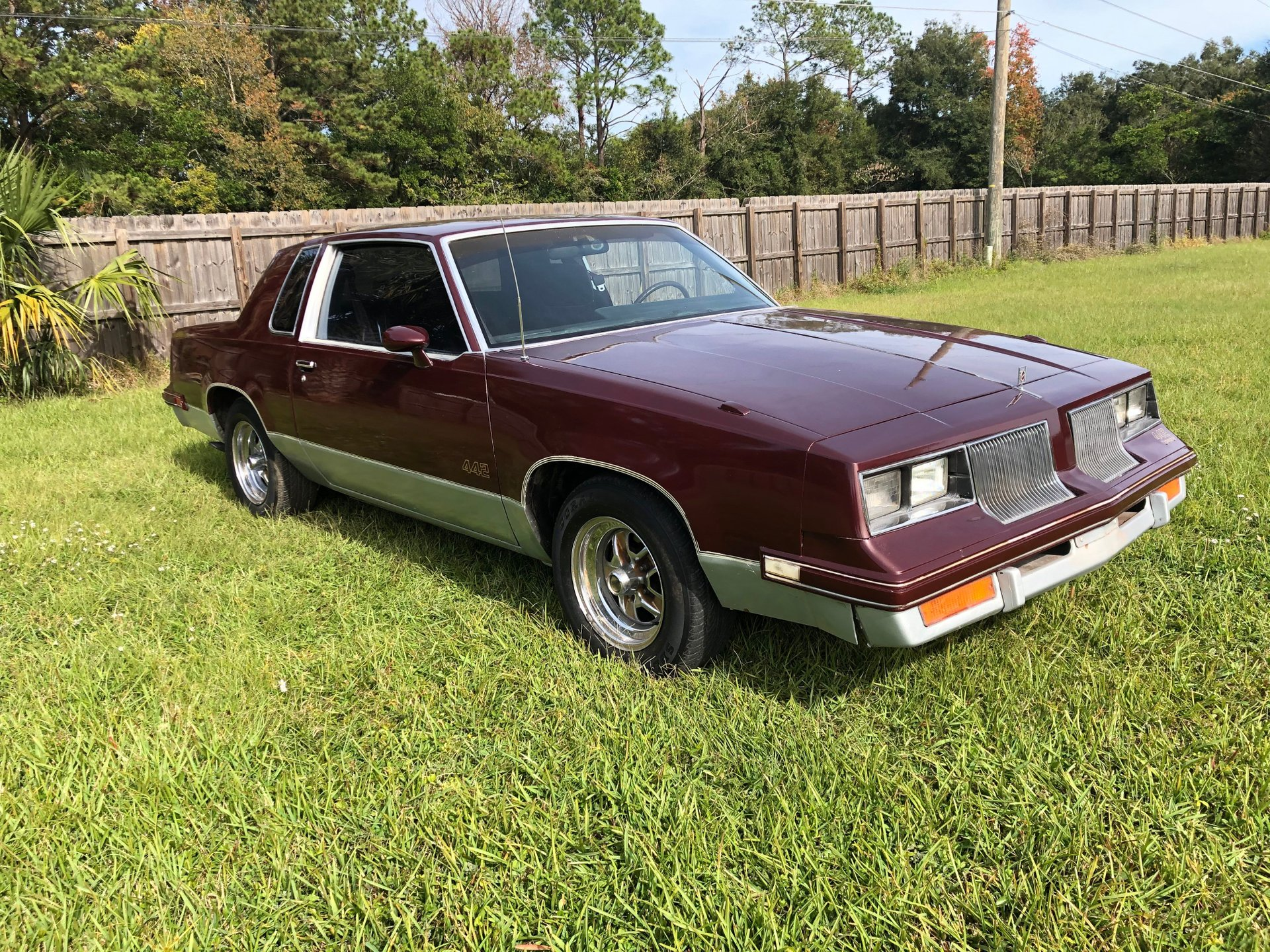1986 oldsmobile cutlass 442 coupe
