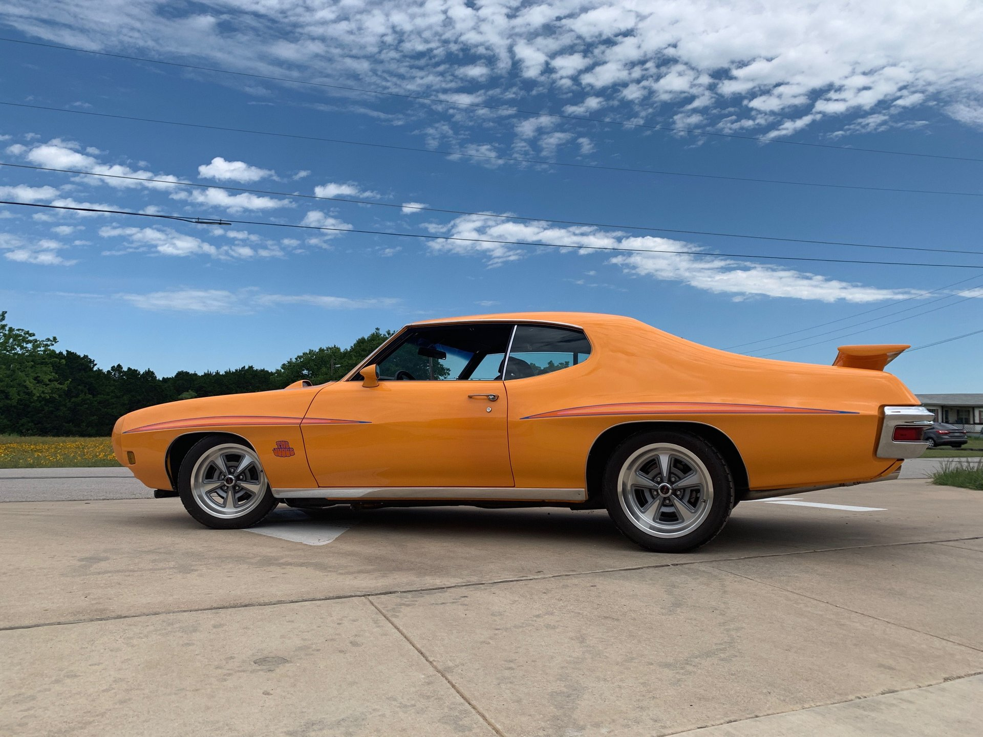 1970 pontiac gto judge ram air iii coupe