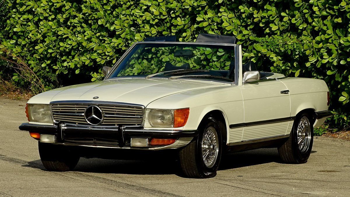 1972 mercedes benz 350sl roadster