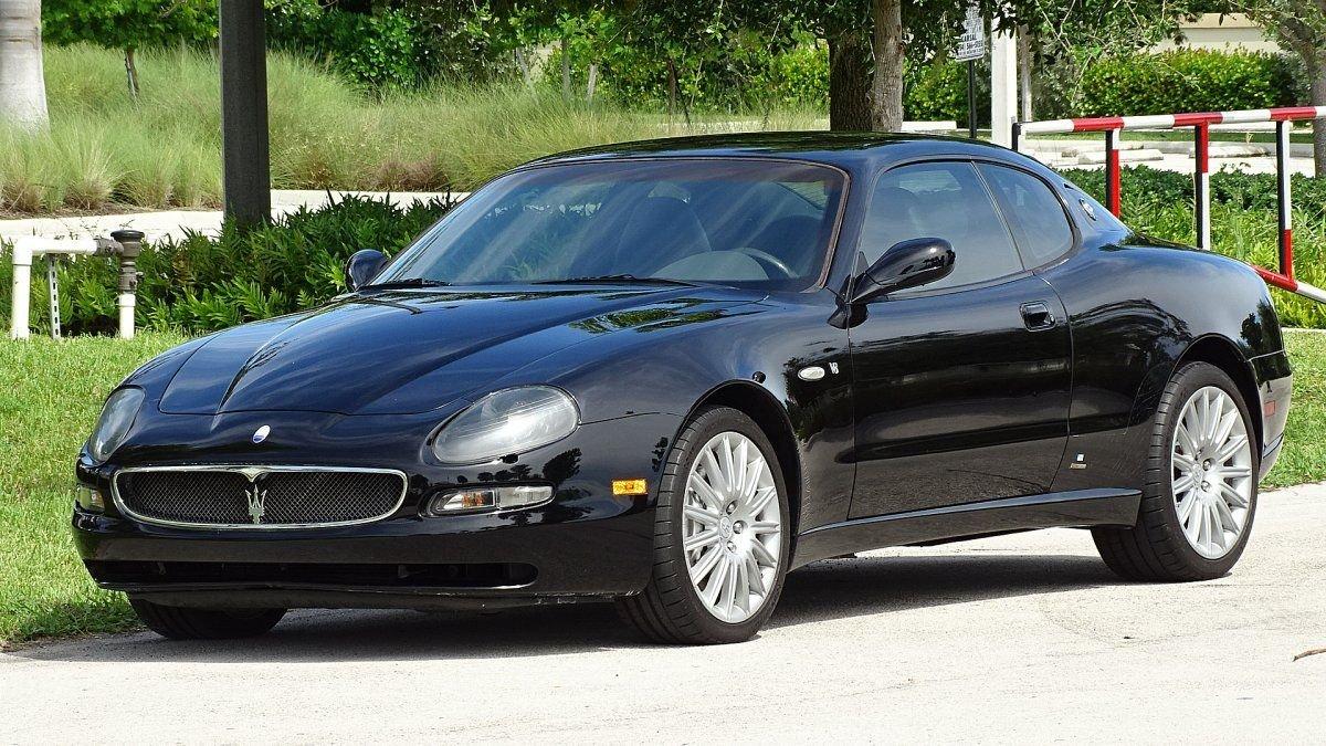 2004 maserati cambiocorsa coupe