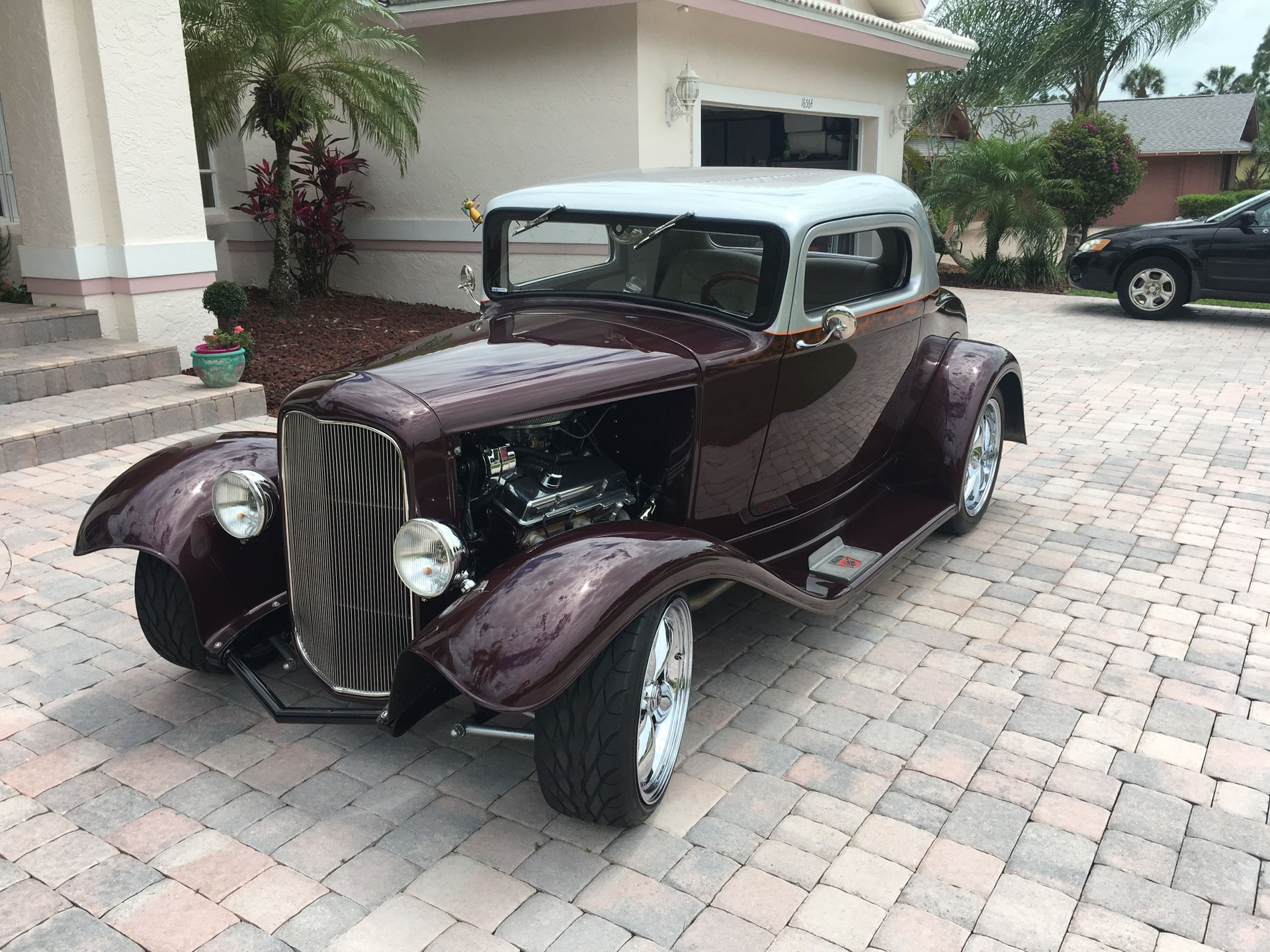 1930 ford 3 window street rod coupe