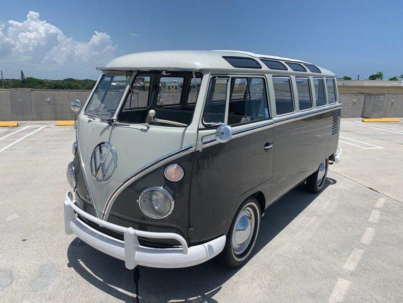 1961 volkswagen type 2 mini bus
