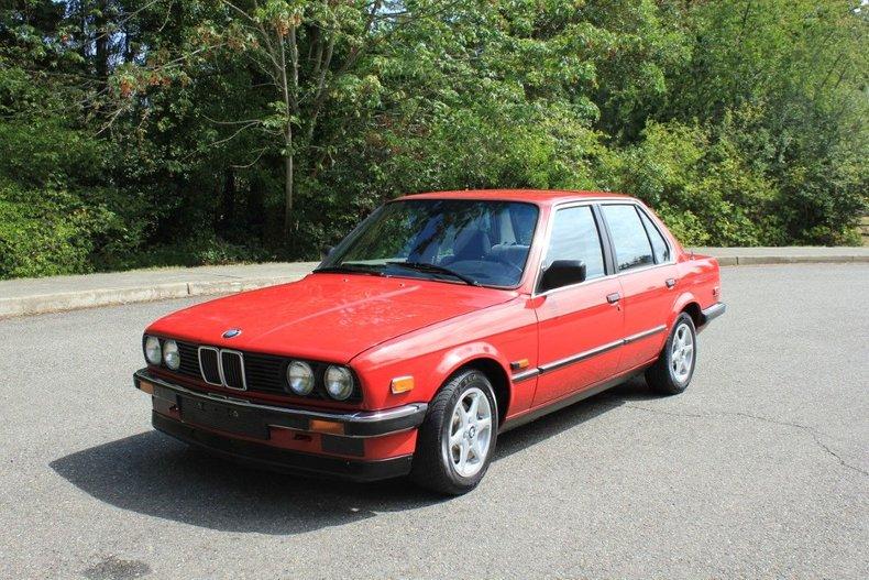 1986 BMW 325e M-Class
