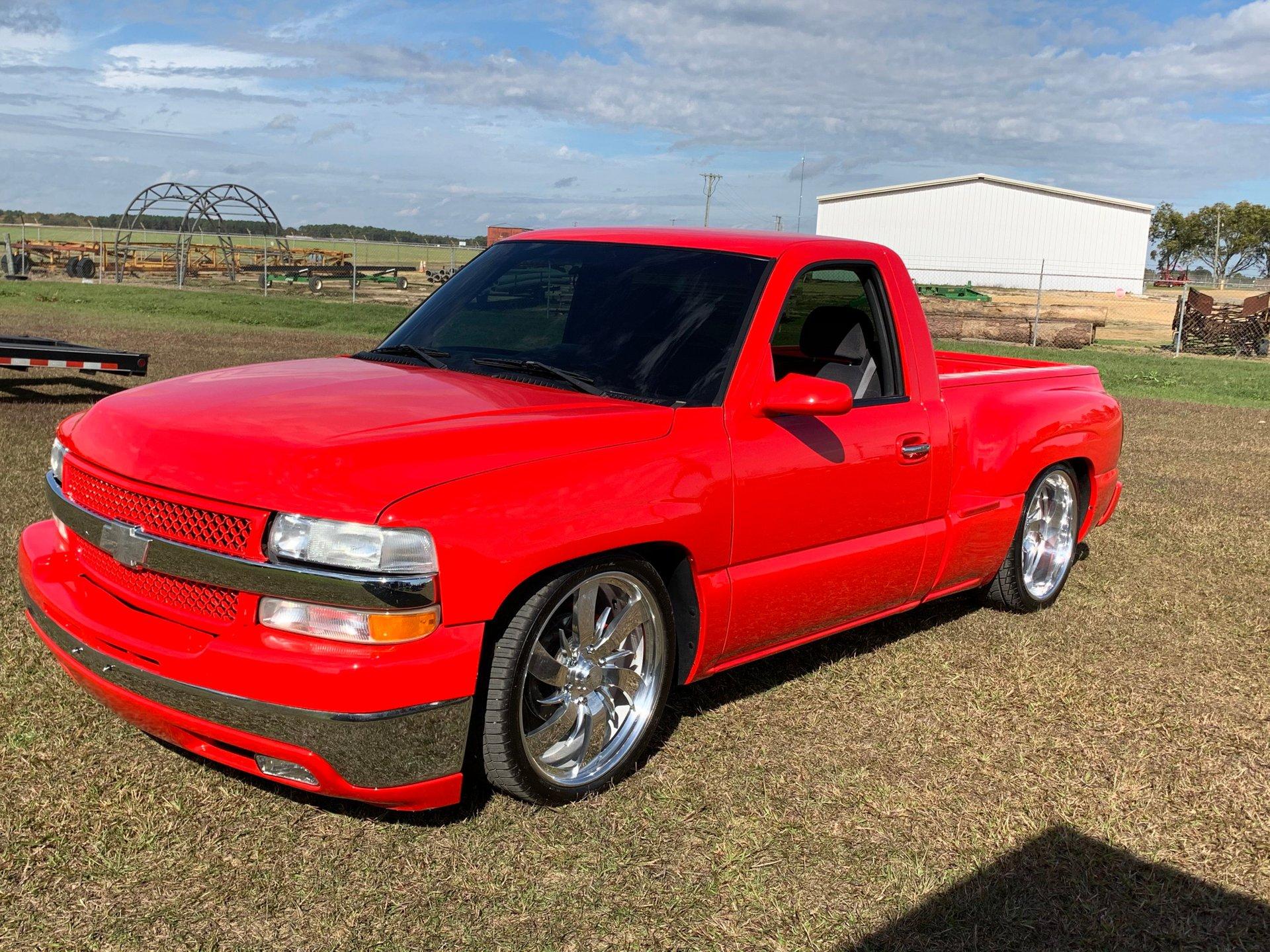1999 chevrolet silverado custom short bed pickup