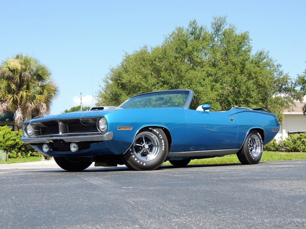 1970 plymouth cuda convertible tribute