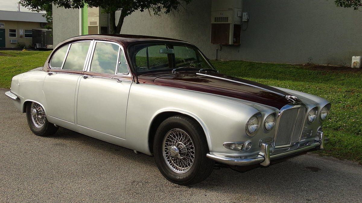 1967 jaguar 420 saloon