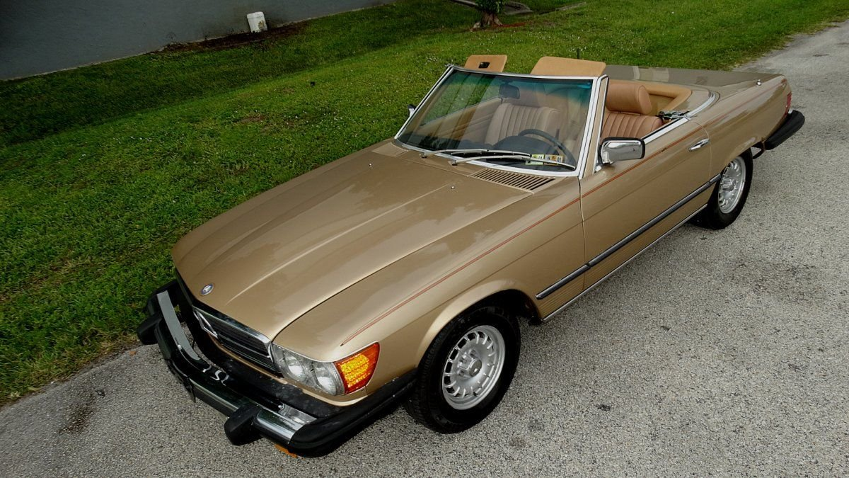 1981 mercedes benz 380sl roadster