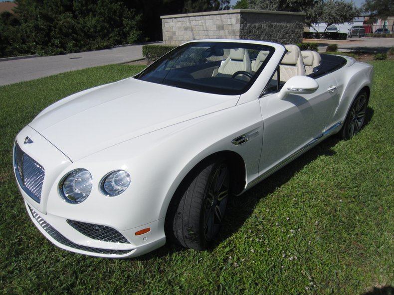 2016 Bentley GTC
