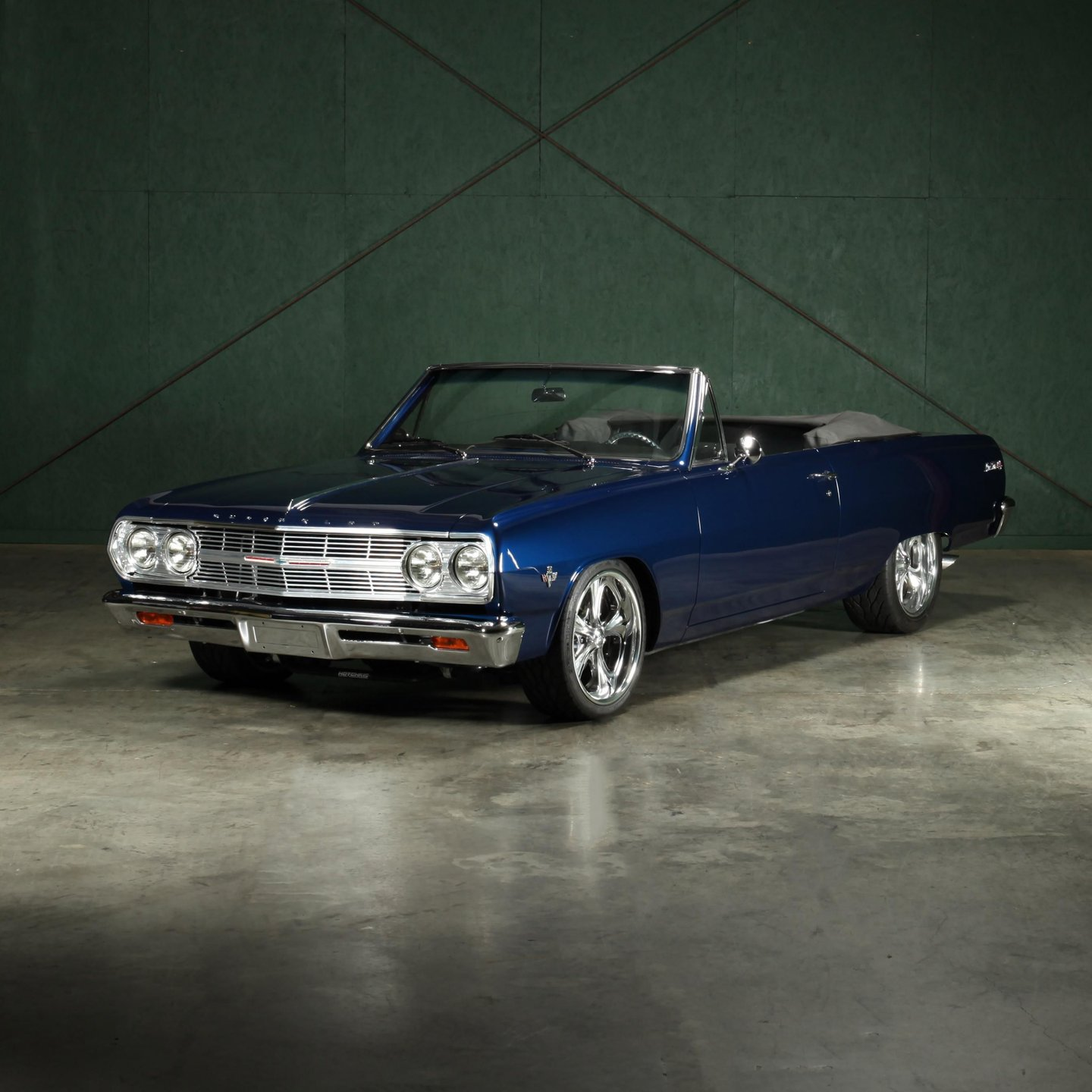 1965 chevrolet malibu ss convertible restomod