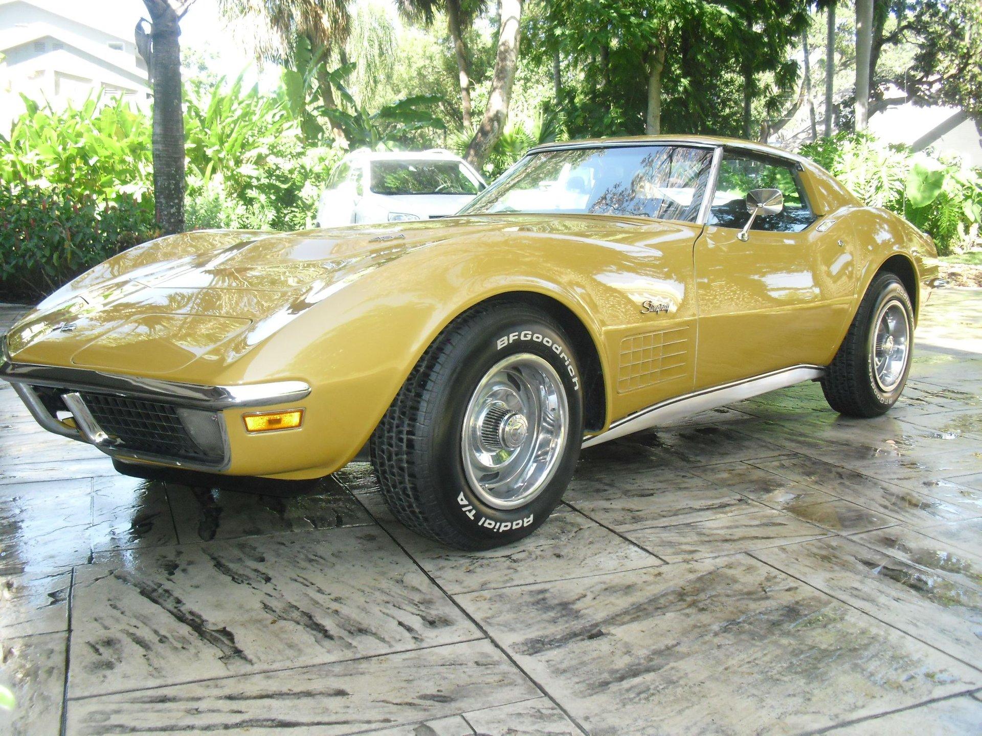 1971 chevrolet corvette 454 coupe