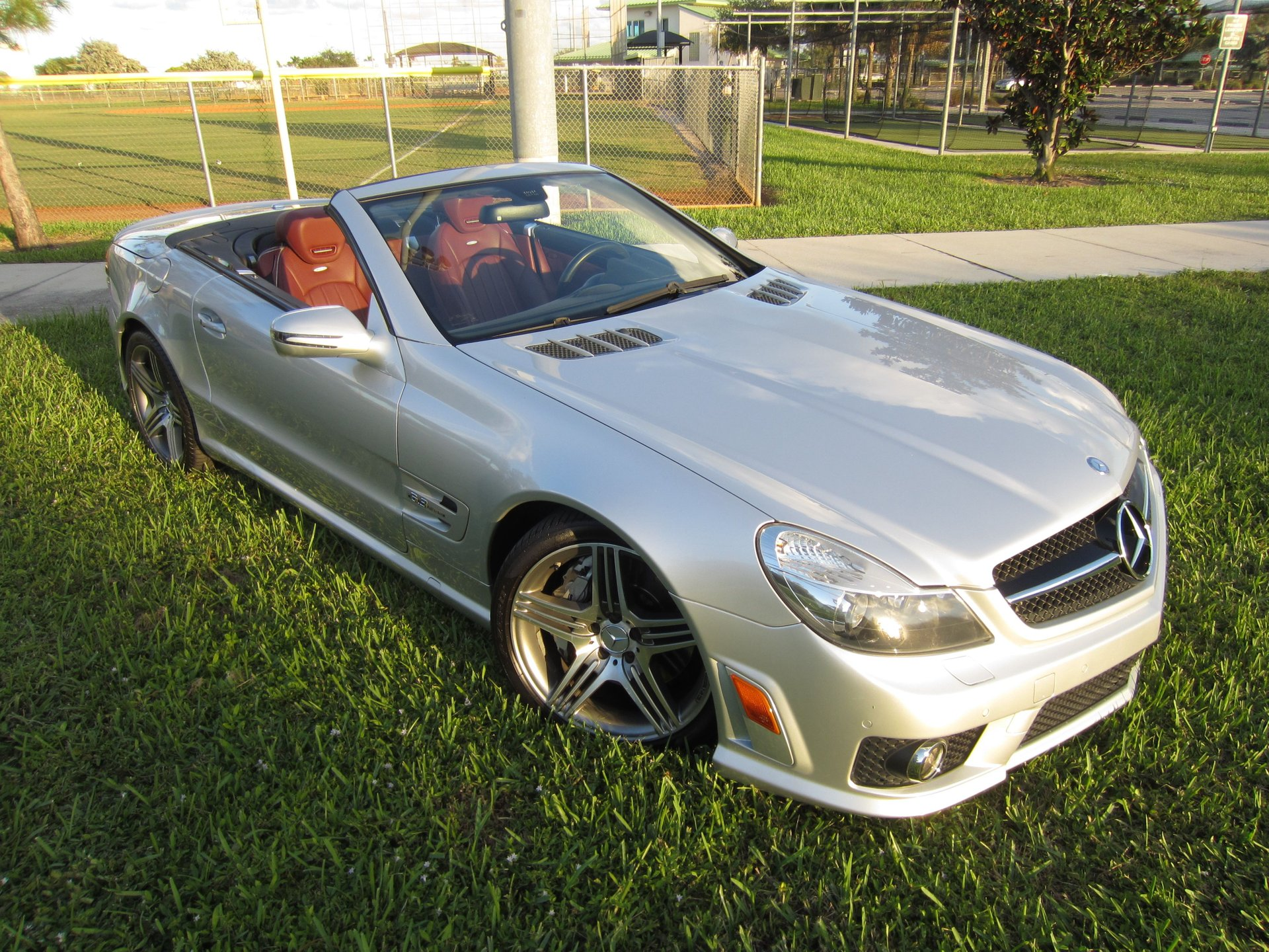 2009 mercedes benz sl63 amg hard top convertible