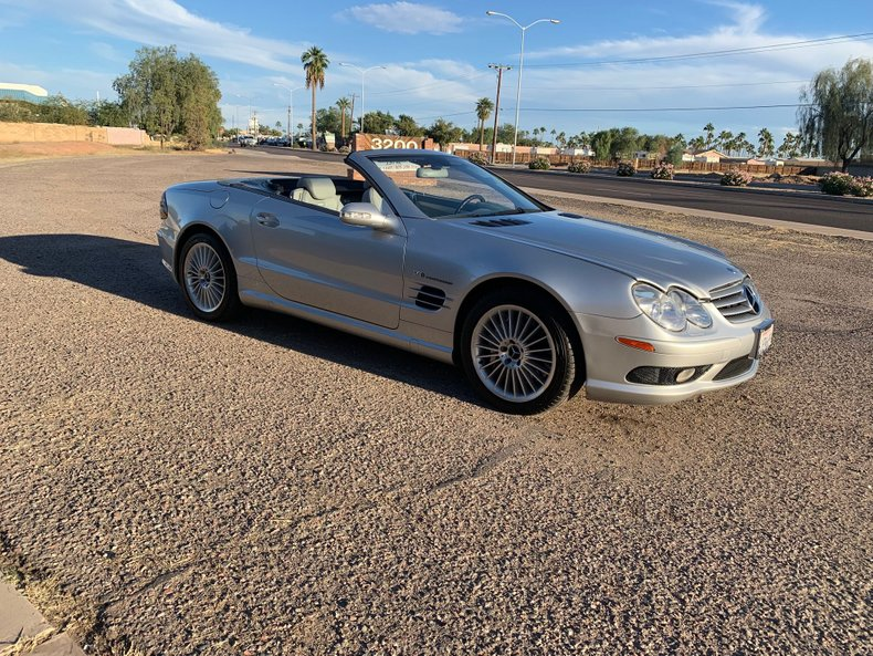 2003 Mercedes-Benz SL55 For Sale